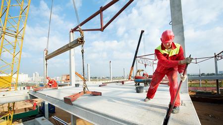 Профессиональное обучение на монтажника стальных и железобетонных конструкций