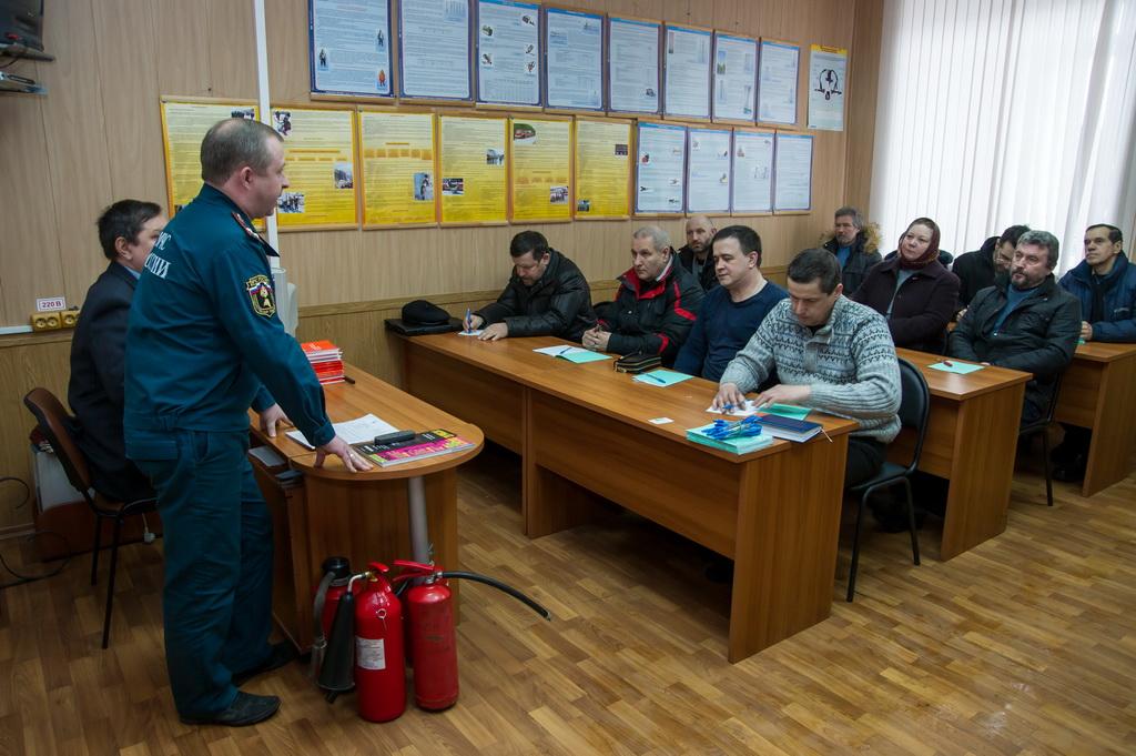 Виды инструктажа по пожарной безопасности