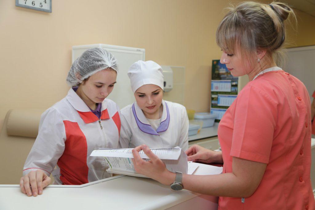 Профессиональное обучение по должности младшая медицинская сестра
