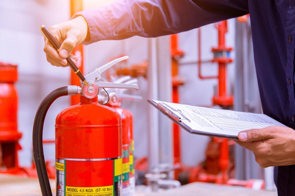 Обучение мерам пожарной безопасности работников предприятия