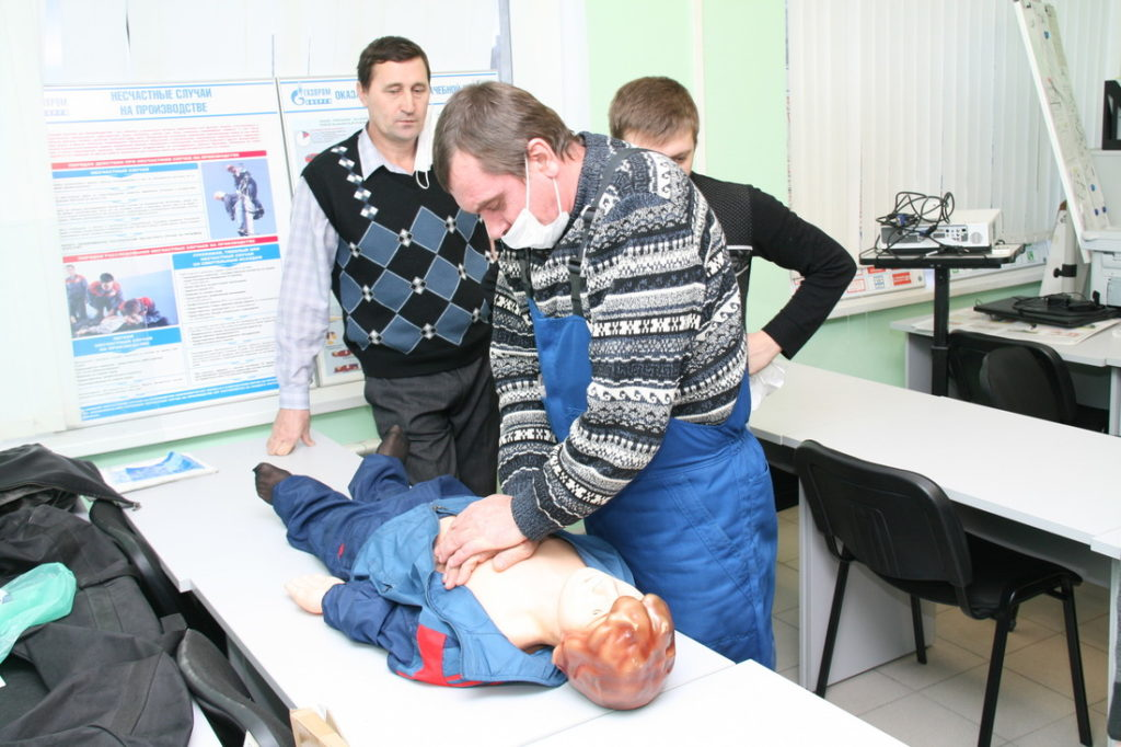 Обучение персонала оказанию первой медицинской помощи