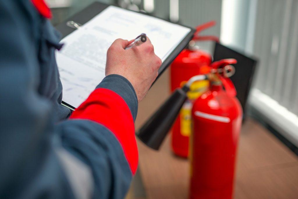 Организация пожарной безопасности на предприятии