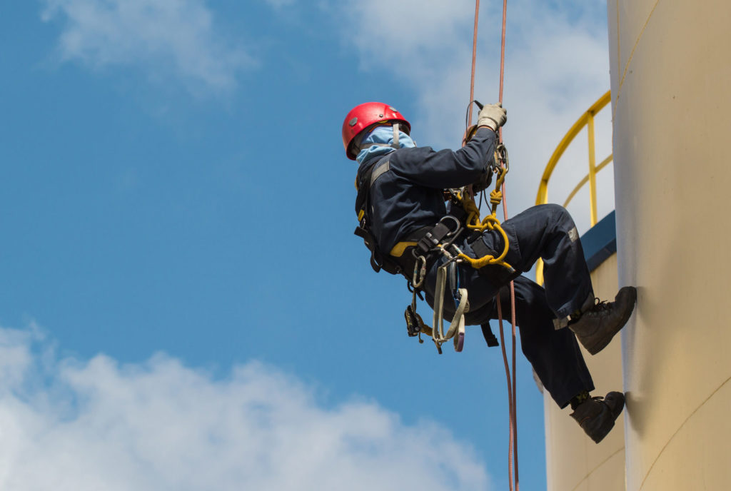 Первичный инструтаж по охране труда при работе на высоте